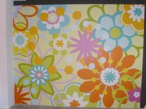 Pinturas Júdez · Mural Empapelado Flores