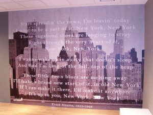 Pinturas Júdez · Mural Empapelado New York