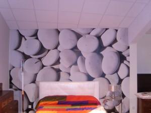 Pinturas Júdez · Mural Empapelado Piedras